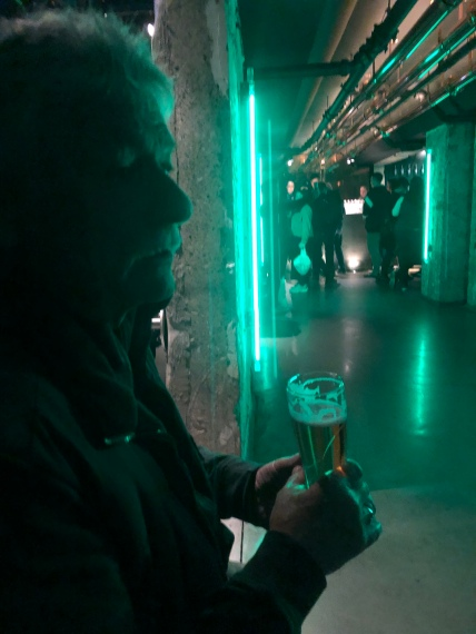 Green is the color at Heineken